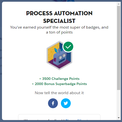 Process Automation Specialist Superbadge